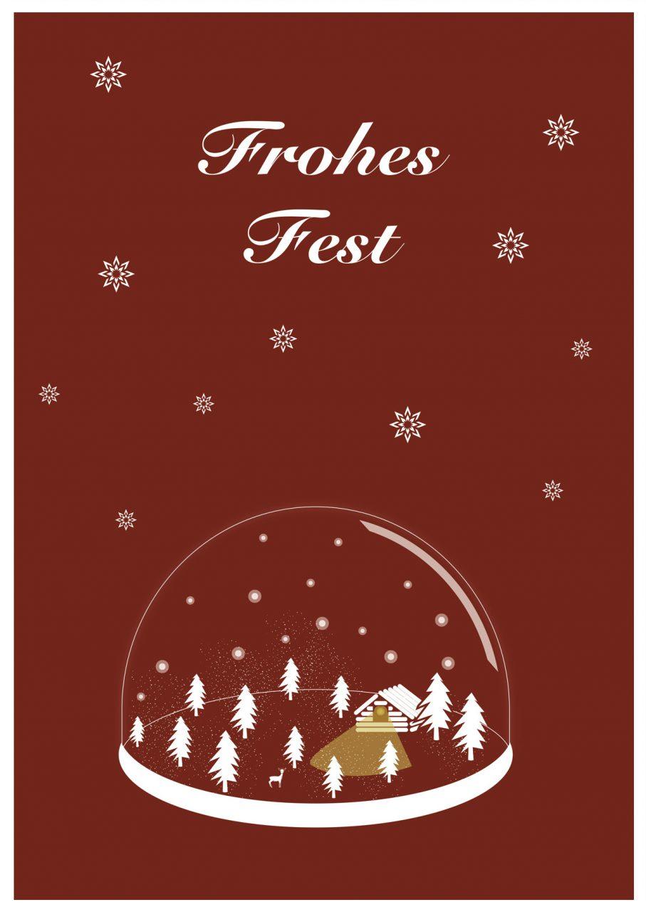weihnachtskarte-rot